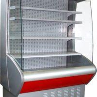 Холодильная горка гастрономическая Полюс Carboma ВХСп-1,3 бу